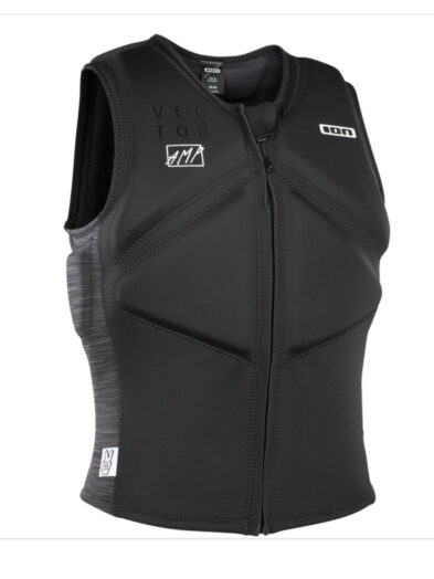 ION Vector Impact Vest-Black