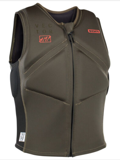 ION Vector Impact Vest-Olive Black