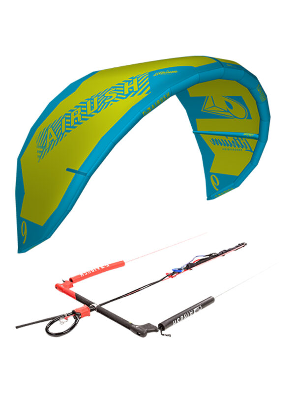 Airush 2019 Lithium Progression 10m Kite + Bar and Lines Package