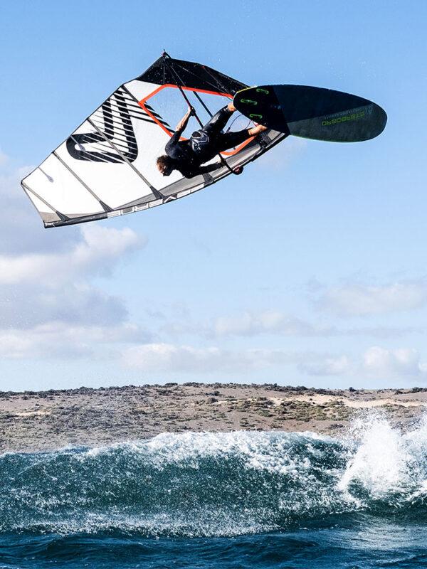 2021 Severne Blade Windsurfing Sail - White