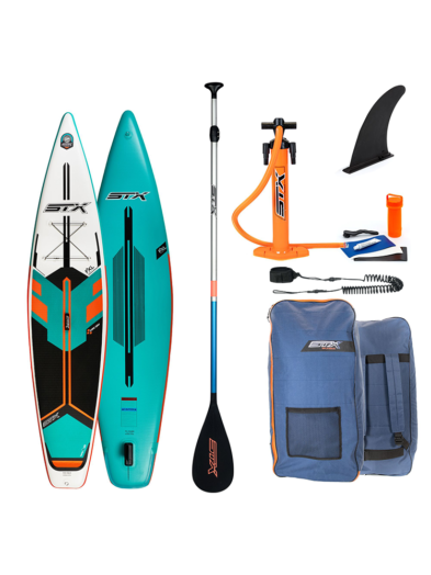 """2021 STX 12'6"""" X 32"""" SUP Tourer Mint/ Orange - Inflatable Paddleboard Package"""