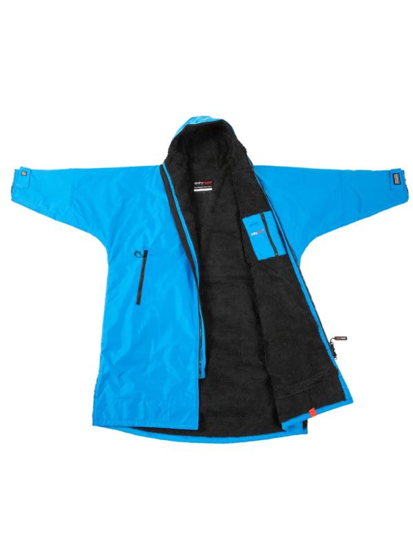 dryrobe Advance Long Sleeve COBALT BLUE BLACK