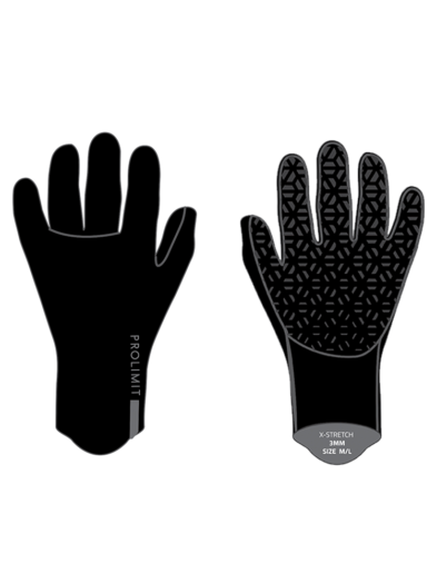 Prolimit Neoprene Q-Gloves X-Stretch 6mm