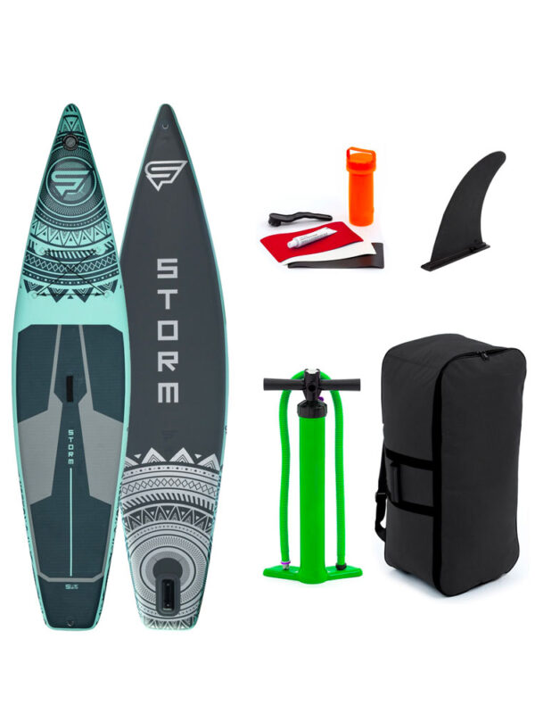 "2021 Storm 11'6″ X 32"" iSUP Mint – Inflatable Paddleboard Package"