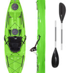 Tarpon 100 LIME with 2-Part Paddle