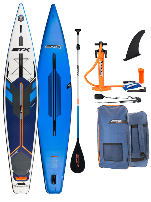 14' STX Race and Tourer iSUP Inflatable Paddleboard
