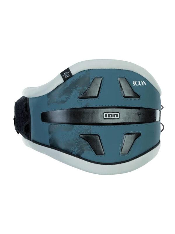 2021 ION Icon 9 Windsurf Waist Harness – Steel Blue 48212-4746