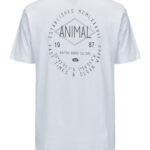 Animal Pocket Tee WHITE CL8SN045 Back