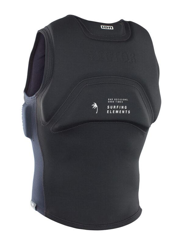 ION Vector Vest Amp Front Zip Impact Jacket – Black 48212-4164