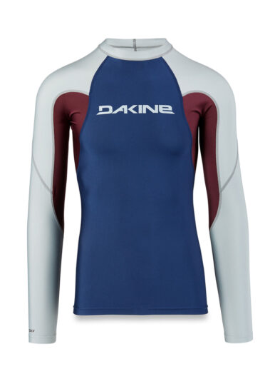 Dakine Heavy Duty Snug Fit Rash Vest LS - Resin - 10001655