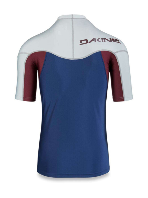Dakine Heavy Duty Snug Fit Rash Vest SS - BACK - Resin - 10001656