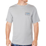 Dakine Inlet Loose Fit Rash Vest - Resin - ON MODEL - 10001659