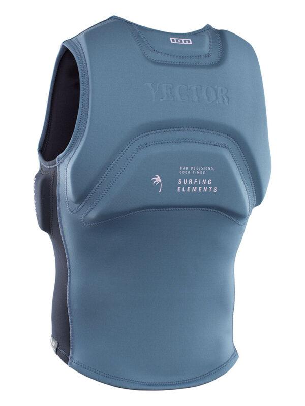 ION Vector Vest Amp Front Zip Impact Jacket – Steel Blue/Black 48212-4164