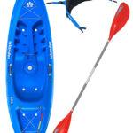 KOA Beach - Reef Blue - Surf Back Rest Colt Junior Paddle Package