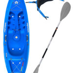 KOA Beach - Reef Blue - Surf Back Rest Egalis Paddle Package