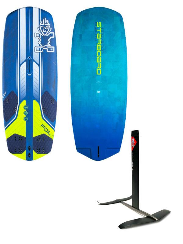 2020 Starboard Freeride Flax Balsa 125L Board & 2021 Starboard Freeride Plus Hydrofoil Package