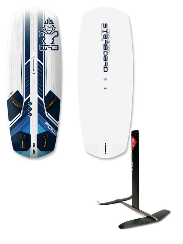 2020 Starboard Freeride Starlite 125L Board & 2021 Starboard Freeride Plus Hydrofoil Package