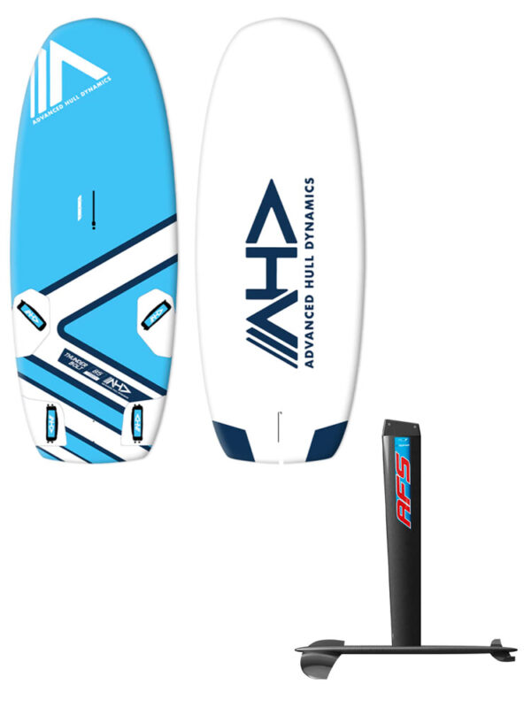AHD Thunderbolt 145L Windfoil Board & AFS-2 W85 Carbon Hydrofoil Package