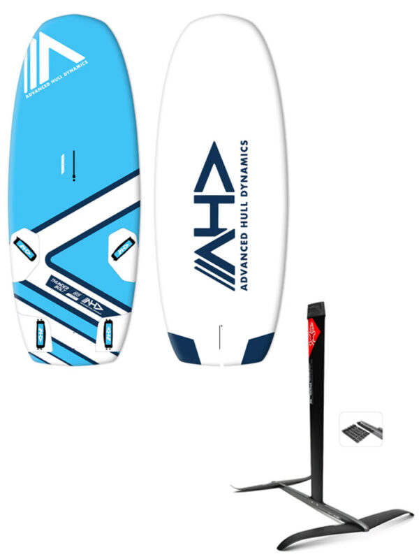 AHD-Thunderbolt-145L-Windfoil-Board-&-Starboard-GT-R-+-Hydrofoil-Package