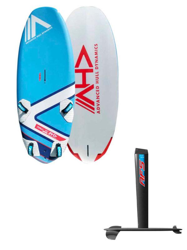 AHD Topaz 147L Board & AFS-2 W85 Fa700 Carbon Hydrofoil Package