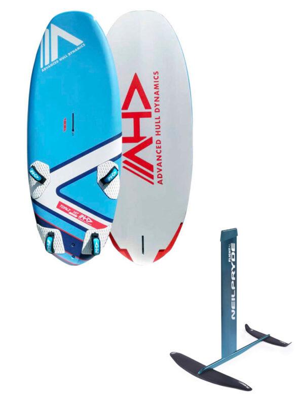 AHD Topaz 147L Board & Neil Pryde Flight AL Hydrofoil Package