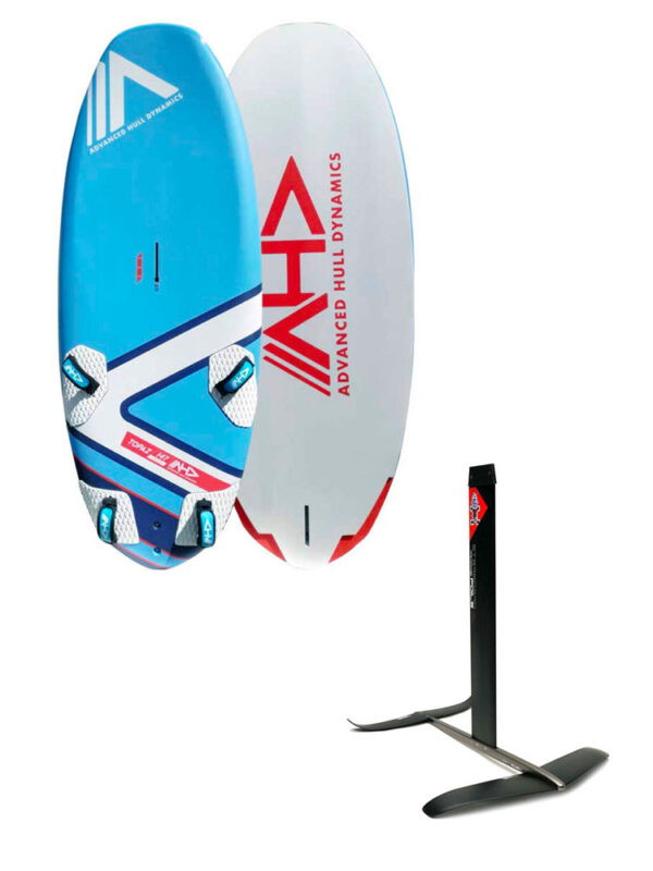 AHD Topaz 147L Board & Starboard Freeride Plus Hydrofoil Package