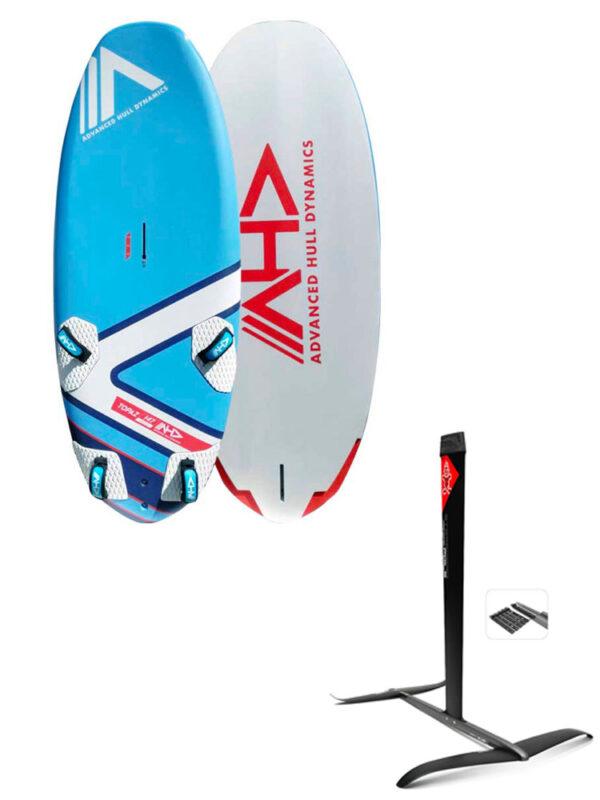 AHD Topaz 147L Board & Starboard GT-R + Hydrofoil Package