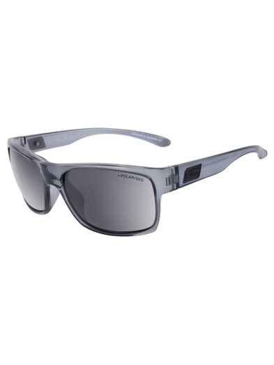 Dirty Dog Sunglasses Furnace - Crystal Grey Frame/ Grey Polarised Lens - 53566