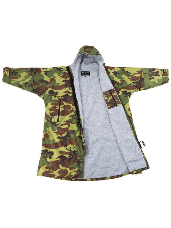 Dry Robe Camo Grey