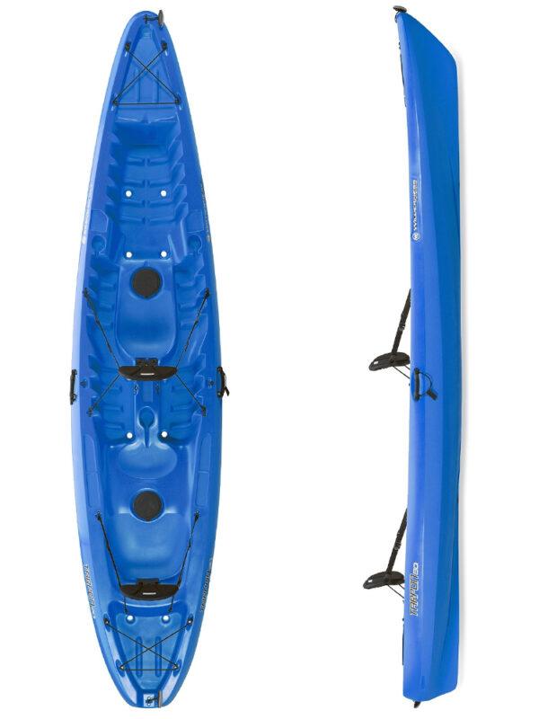 Tarpon 130 Tandem Kayak Blue Boat Only