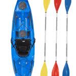 Wilderness Systems Tarpon 100 Kayak Blue With Drift Paddles