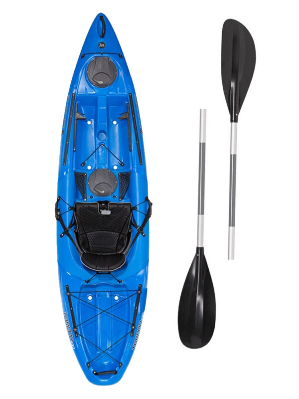 Wilderness Systems Tarpon 100 Kayak Blue With Livery Paddle