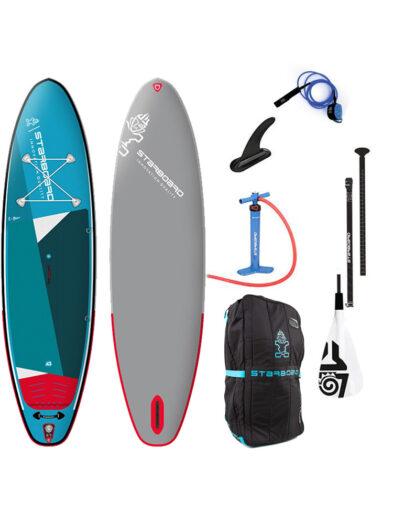 2021 Starboard iGO Zen Inftatable SUP Paddleboard 10'8